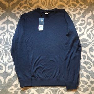 Under Armour Navy men's golf sweater